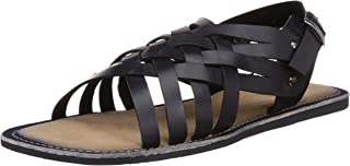 Tortoise Men's Leather Sandals and Floaters