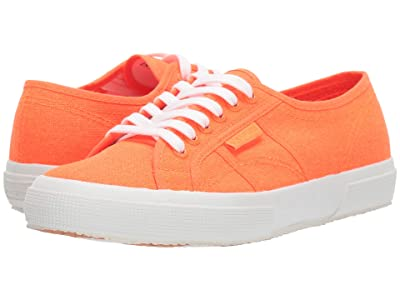 Superga 2750 COTU Classic Sneaker (Orange Neon) Women
