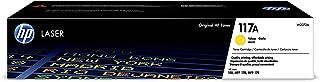 HP W2072A HP117A cartoucho amarillo 700 lados