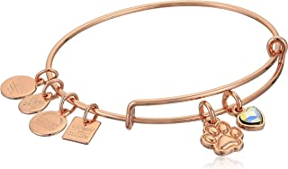 Women's Charity by Design, Paw Print Duo Charm Bangle