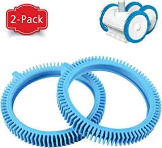 AR-PRO (2-Pack) Replacement Tires with Super Hump for Poolvergnuegen 896584000-143, Fits Select Poolvergnuegen Cleaners