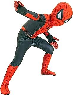 kids spandex spiderman costume
