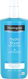 Neutrogena Hydro Boost Hydrating Body Gel Cream, 16 Ounce (pack Of 3)