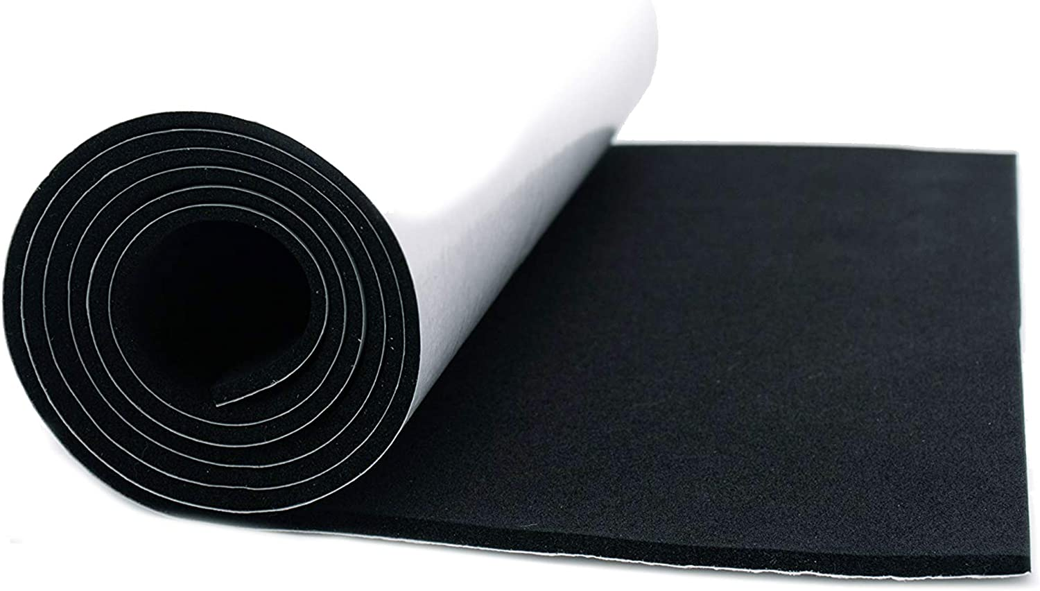 3mm Roll Connected Essentials Black Self-Adhesive 0.1 Thick Waterproof Foam Roll
