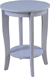 Convenience Concepts American Heritage Accent End Table, Gray