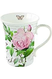 16 x 16 x 9.5 cm Porzellan Mehrfarbig Easy Life Palace Garden Fresco Eine Tasse Mit Untertasse