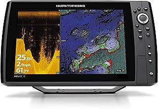 Humminbird 410370-1 Helix 12 Chirp Di GPS G2N Fishing Charts & Maps