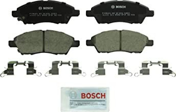 Bosch BC1592 QuietCast Premium Ceramic Disc Brake Pad Set For Nissan: 2015-2016 Micra, 2013-2014 Tiida, 2012-2017 Versa, 2014-2017 Versa Note; Front