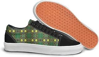 Green Snake Skin Man Casual Sneakers Shoes Skateboard Classic New Original