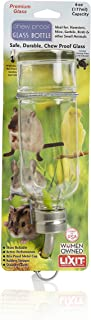 Lixit Chew Proof Glass Water Bottle, 6 Oz