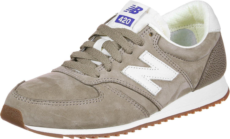 New Men's U420-lmr-d Low-Top Sneakers, Brown brown grey, 6.5 UK