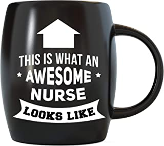 Nurse Gifts This Is What An Awesome Nurse Looks Like Funny Nursing Novelty Christmas Birthday Gag Gift Idea Ceramic Coffee Mug Tea Cup