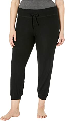 Plus Size Lounge Around Bopo Midi Jogger