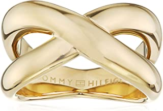 TOMMY HILFIGER WOMEN'S IONIC GOLD PLATED STEEL RINGS -2700964B