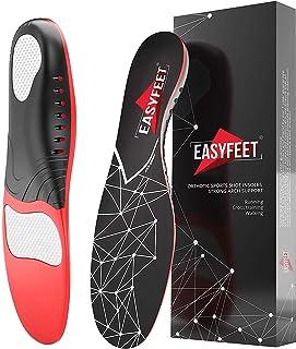 کفی کف پا برای حمایت از قوس کف پا Farsi Fasciitis - درزهای ارتوتیک - کف پا - تخت کفش مخصوص ژل در حال اجرا - کفی های ارتز برای قوس قوس بالا - کفی های بوت