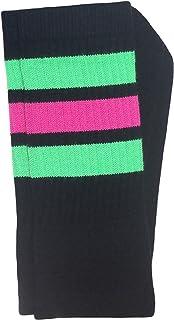 """Skater Socks 22"""" Knee High Tube Socks"""