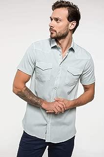 DeFacto Cep Detaylı Slim Fit Gömlek