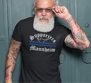 World of Football T-Shirt Supporters-Mannheim