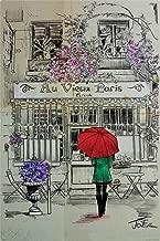 Pyramid International Loui Jover Au Vieux Paris Cool Wall Decor Art Print Poster 24x36