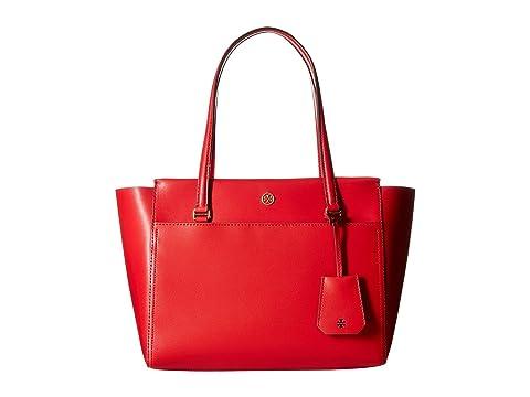 6PM:Tory Burch 托里·伯奇 Parker真皮托特包 正红色 特价仅售 $160.99