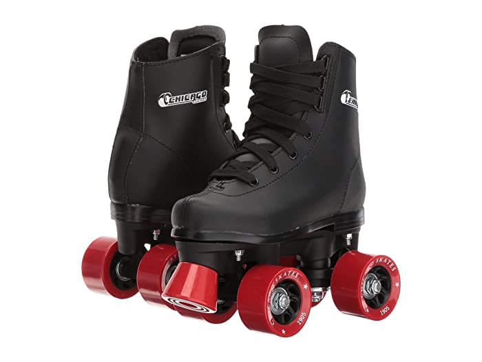 Chicago Skates  Youth Rink Skate (Toddler/Little Kid/Big Kid) (Black) Wheeled Shoes