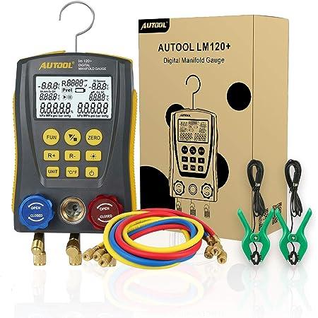 Beley Juego De Medidores De Sistema Hvac De Refrigeración Digital De Alta Precisión Para Prueba De Mantenimiento De Aire Acondicionado Refrigerador Automotive