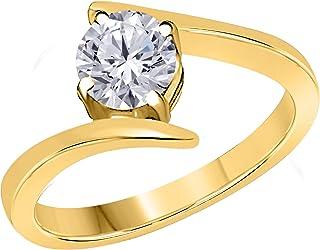 251ed9cb40fb5 Amazon.com: Sun, Moon & Stars - Engagement Rings / Wedding ...