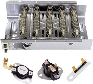 Siwdoy 279838 3387134 3977767 3392519 Dryer Heating Element Kit Compatible with Whirlpool Dryer