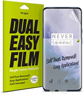 Ringke 1P7P-RE-SP1-DE Screen Protector For OnePlus 7 Pro - Clear (Pack of 2)