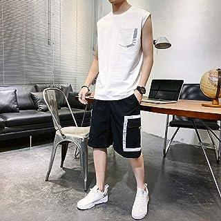 M/&S/&W Men Athletic Tracksuit Short Sleeve Tshirt /& Shorts Quick-Dry Joggers Sport Sets