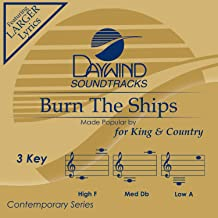 Burn the Ships Accompaniment/Performance Track
