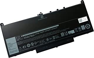 SUNNEAR J60J5 Laptop Battery Replacement For Dell Latitude E7270 E7470 Series Notebook PDNM2 R1V85 451-BBSX 451-BBSY 451-BBSU MC34Y 242WD GG4FM 7.6V 55Wh 4Cell