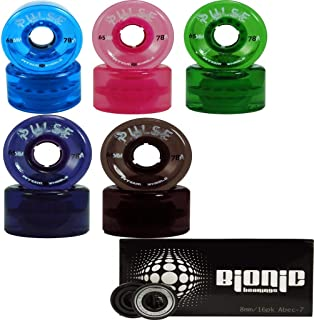 Atom Pulse Outdoor Skate Wheels with Bionic Bearings