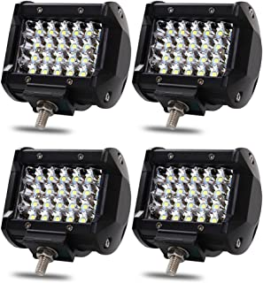 72W LED Work Light Bar, 4Pcs 4