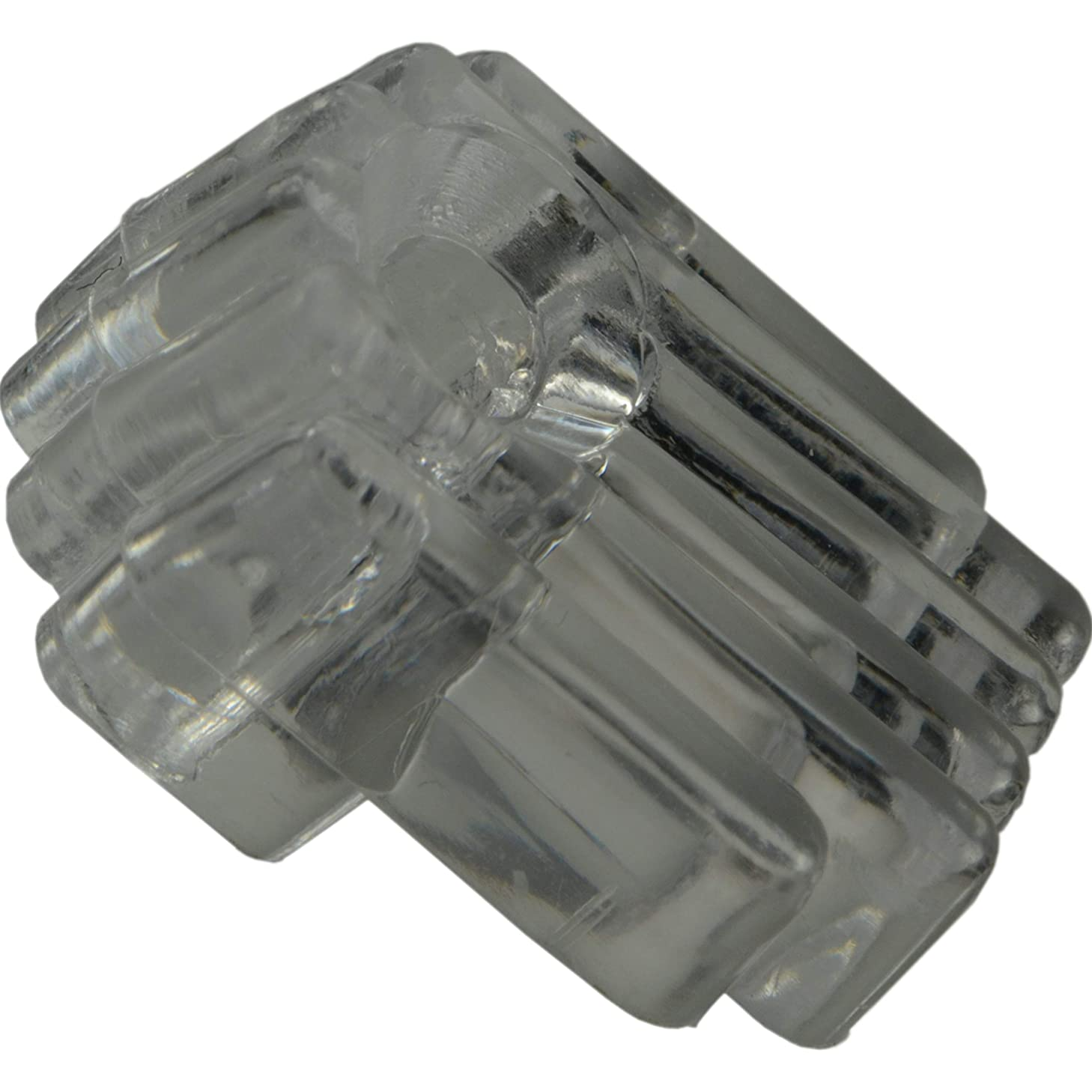 Hard-to-Find Fastener 014973157135 Decorative Mirror Clips for 1/8