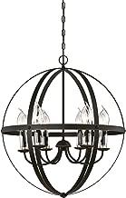 Westinghouse Lighting 6339000 Stella Mira Six-Light Outdoor Chandelier, Oil Rubbed Bronze