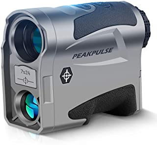 $129 » Sponsored Ad - PEAKPULSE MA1000AG Golf and Hunting Dual-Mode Rangefinder, Golf Mode with Slope-Switch Technology, Flag Acq...