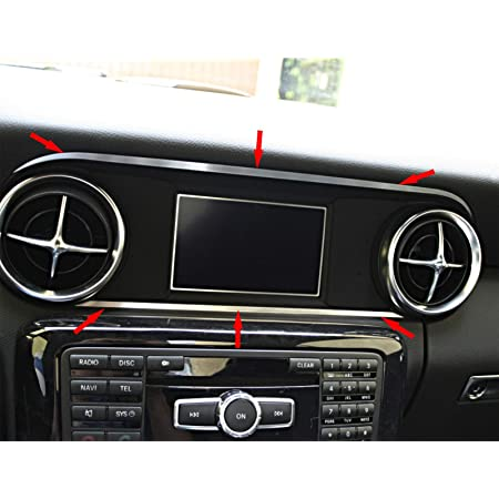 1 Zierblende Für Tacho Von Mercedes Slk 172 Aus Aluminium R172 Fl 280 200 350 Amg55 Amg45 Baumarkt