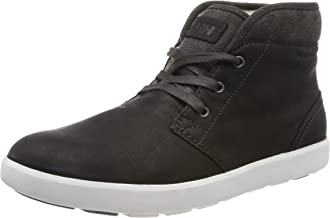 Helly-Hansen Men's Gerton Cold Weather Sneaker, 990 Jet Black/Off White/Charcoal, 12