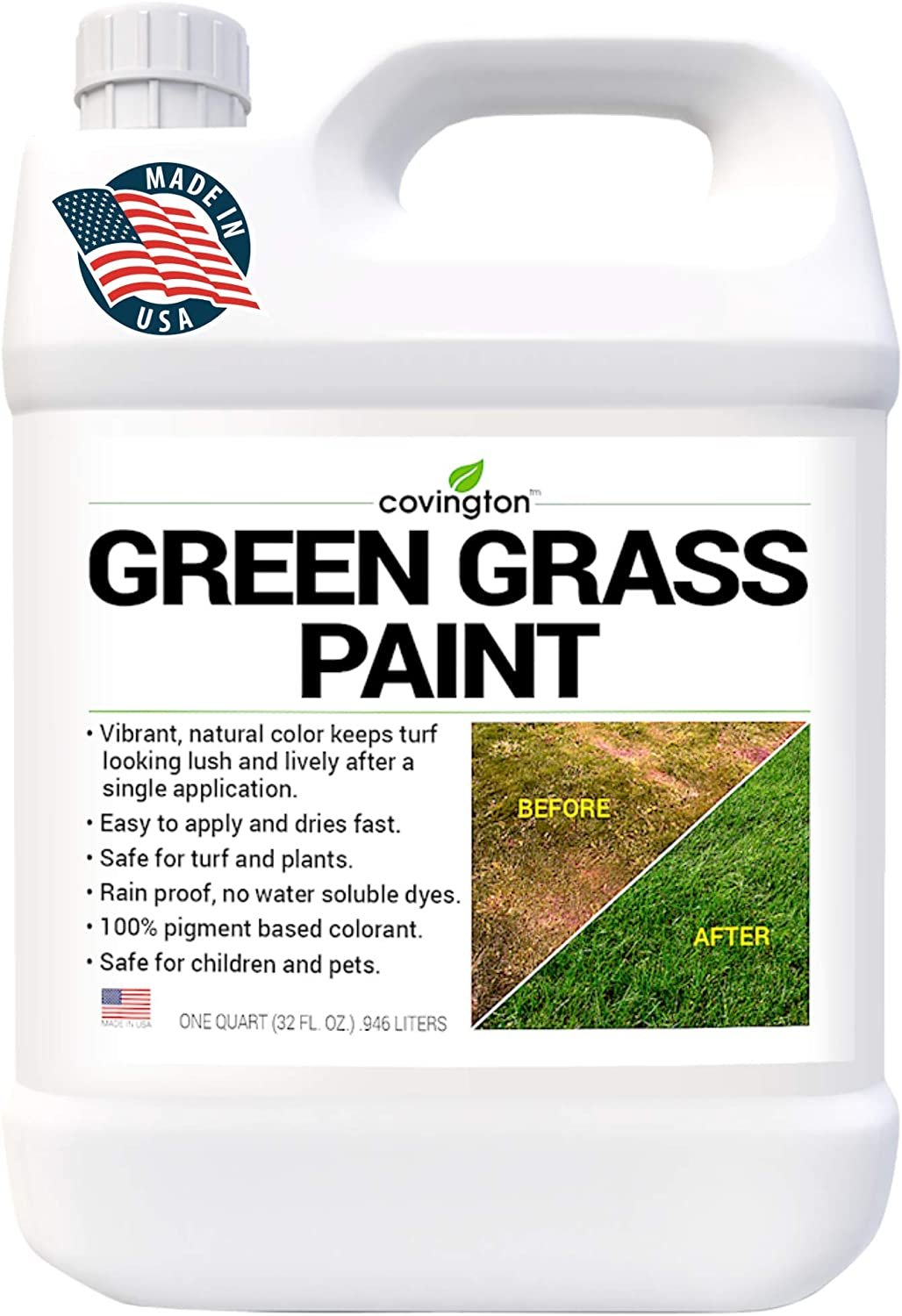 Covington Green Grass Paint for Price reduction Lawn - List price Sp