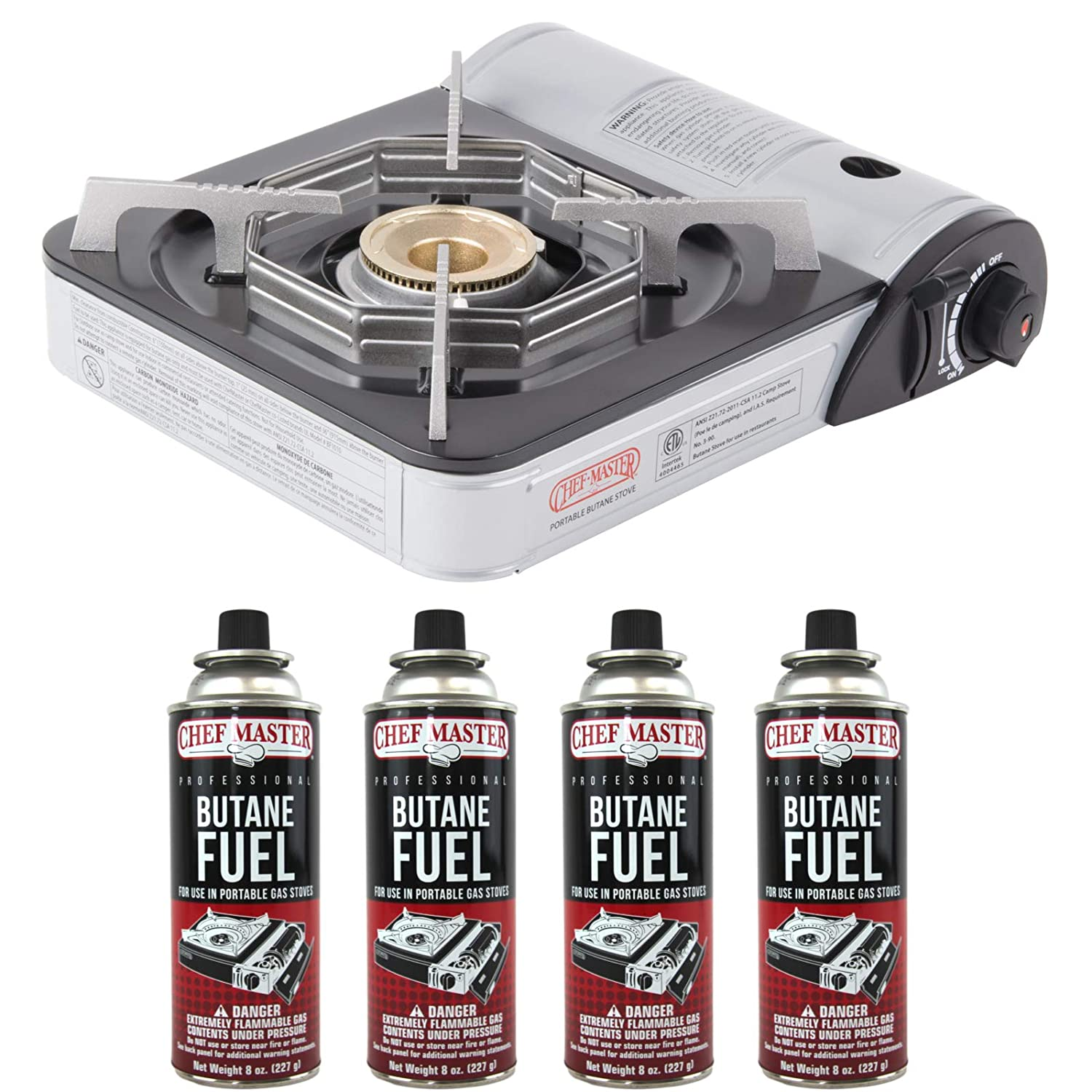 Limited Special Price Directly managed store Chef-Master 90011 Portable Butane Stove BTU 000 10 Outlet Ca