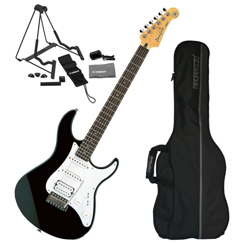 Yamaha Pacifica pac112j negro guitarra eléctrica w/funda y set de ...