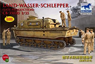 Bronco 1/35Land Wasser Schlepper (LWS) Amphibious Tractor CB35020Late
