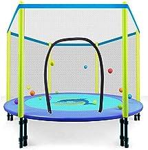 HMBB Trampoline indoor/outdoor kindertrampoline opvouwbare 48 inch met hek binnentrampolines