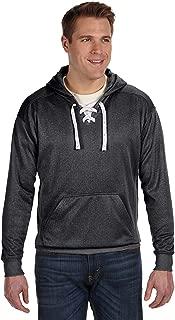 J America Sport Lace Poly Hood Sweatshirt