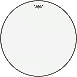 Remo Ambassador Bass Drumhead - 22 Inches - Clear