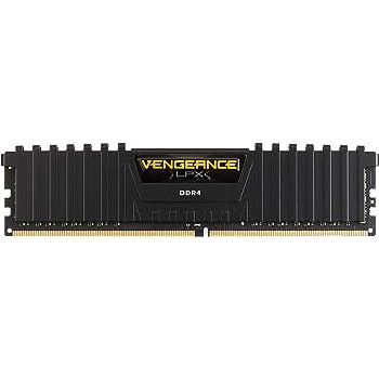 Corsair Vengeance LPX 8GB DDR4 3000 (PC4-24000) C16 PC Memory (CMK8GX4M1D3000C16)
