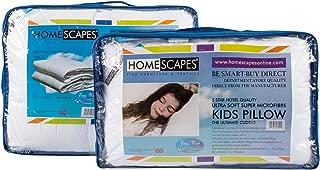 Blanc Homescapes Couette Microfibre 350gr//m2 135 x200 cm ultra doux! Hypoallerg/énique Douceur /& Bien-/être