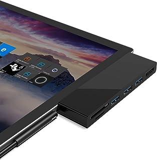 【新バージョン】Cateck Microsoft Surface Pro 4/Pro 5/Pro 6 ハブ 6-in-1ドッキングステーション 4K HDMI対応ミニDP + SD&Micro SDカードリーダー + 3 USB 3.0 ポート...