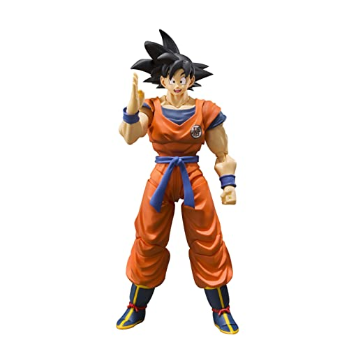 Bandai Tamashii Nations S.H. Figuarts Son Goku (A Saiyan Raised on Earth)